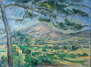 Cezanne's Montagne Sainte-Victoire