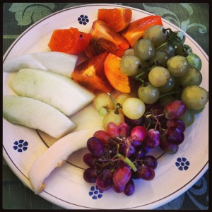Fall fruits at Truddhi in Puglia