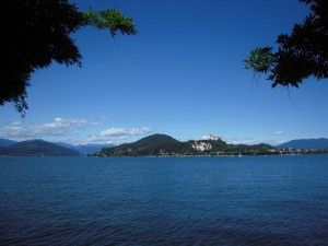 On the shore of Lago Maggiore