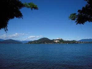 On the shore of Lago Maggiore